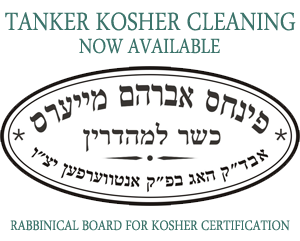Tanker Kosher Cleaning